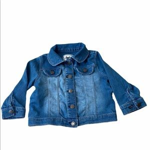 Gymboree Baby  Girl Button Down Jeans Jacket